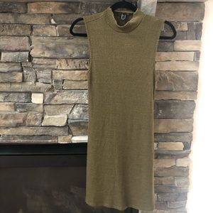 New olive green dress